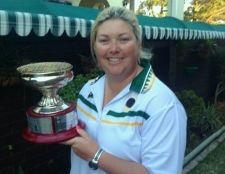 Katrina Wright - the new NSW Singles Champ of Champs!