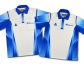 Henselite Tournament Shirts - Blue and White