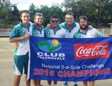 Warilla team snap up their third National 5 a side title!