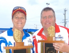 Jo and Jeremy take Golden Nugget Honours