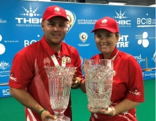 Australian Indoors Double for Team Henselite