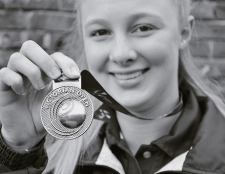 Vic Open gold for Mikayla Long