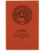 Indoor Bowls: Laws Book