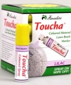 Toucha Coloured Lawn Bowls Marker